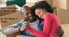 """""""5 Steps You Must Take To Save Your Marriage"""" from my favorite Marriage advice website; mendourmarriage.com !!"""