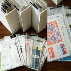 見た目もスッキリ、わかりやすい書類収納を作るヒント Clutter Organization, Home Office Organization, Paper Organization, Muji Storage, Study Room Decor, Japanese Bathroom, Study Notes, Study Motivation, Staying Organized