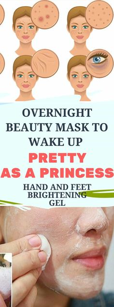 Overnight Beauty Mask To Wake Up Pretty As A Princess Hand & Feet Brightening Gel!!! - healthyload