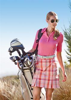 Shop pleated golf skorts including the 2015 LLizzie Driver Newport News Pleated Skort
