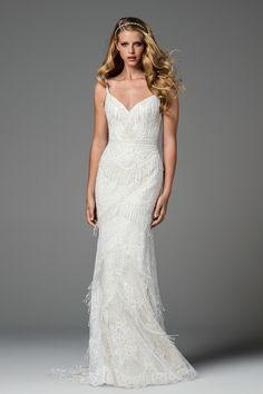 Watters Spring 2017 wedding gown, Ferrara