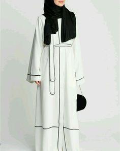 Islamic Fashion, Muslim Fashion, Modest Fashion, Fashion Outfits, Muslim Dress, Hijab Dress, Hijab Outfit, Abaya Noir, Mode Abaya