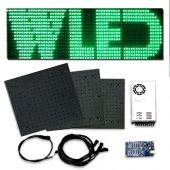 Kit afficheur LED à intégrer sur panneau publicitaire LED, enseigne lumineuse