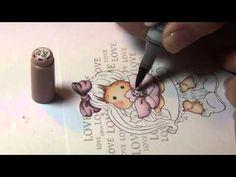 Coloring Video: Special Tilda of Magnolia
