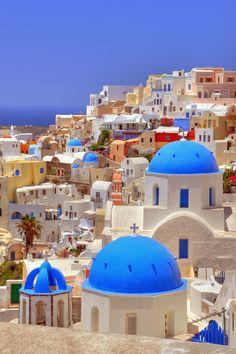 Colours of Oia Greece