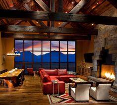 Stock Farm Residence in the small town of Hamilton, Montana, USA designed by studio Locati Architects