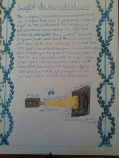 Student write up of physics demonstration Waldorf Curriculum, Waldorf Education, Physics Topics, Latin Quotes, Meteorology, Middle School Science, Sixth Grade, Physical Science, Too Cool For School