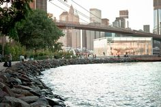 Local hotspot: Jane's Carousel and the Brooklyn Bridge Park. NYC families, friends, doers, makers, and shakers convene along the East River to picnic with a view of Manhattan's high rises. The sunset from this shore is transformative, just in case you'd like to know when it's best to go.
