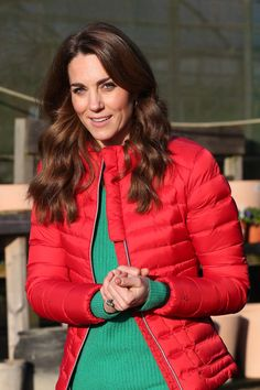 Kate Middleton, Ciara, and Kendall Jenner Are All Wearing the Winter Trend Princess Diana Wore on Repeat - JETTE Kate Middleton Pictures, Kate Middleton Hair, The Duchess, Duchess Of Cambridge, Queens Birthday Party, Yellow Fascinator, St Patricks Day Parade, On Repeat, Winter Trends