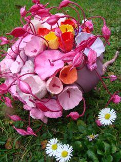 """Matrimonio ecologico, Roma. Eco wedding: paper bouquet """" La primavera"""" www.alessandrafabre.com"""