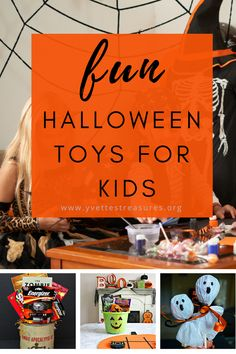 Halloween Toys For Kids - We have the best selection of kids toys for Halloween. From fun Halloween toys to scary toys, we have them all! Come as see for yourself today! #halloweentoysforkids #halloweengiftideas #kidshalloweentoys Halloween Food Crafts, Halloween Party Treats, Halloween Toys, Halloween Activities For Kids, Christmas Gifts For Friends, Homemade Christmas Gifts, Christmas Gift Guide, Gifts For Kids, Kids Toys