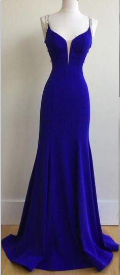 Royal Blue Prom Dresses,Backless Prom Dress,Mermaid Prom Dresses,Long Prom Dresses,Handmade Prom Dresses,Evening Dresses,Women Dresses,Party Prom Dresses,Prom Dresses 2017