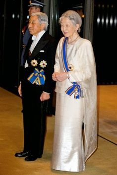 Dutch Royals visit Japan State Dinner at the Imperial Palace in Tokyo, Japan, 29 October 2014.