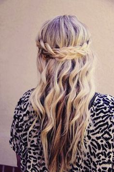 The crowning plait