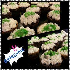 Cupcakes ecológicos con papel reciclado
