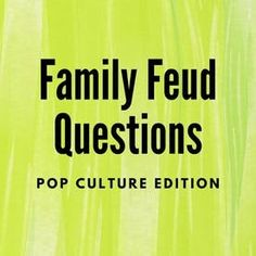 Trivia Questions For Adults, Family Feud Game Questions, Trivia Questions And Answers, Funny Questions, Family Games To Play, Family Reunion Games, Family Reunions, Family Feud Funny, Family Humor