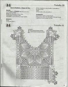 Portal Crocheteiras: GRAFICO DE JOGO DE BANHEIRO CRU