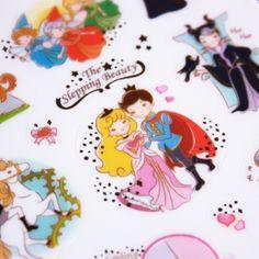 ★ Stickers la belle au bois dormant
