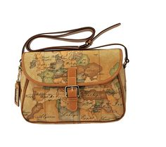 Alviero Martini. WANT! Travel bag to bring with you on your travels.