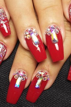 red manicure #red #manicure #love #nails #nailart #beautiful #gelnails #nail #art #naildesign #fashion #gelpolish #nailswag #nailpolish #nailsoftheday Red Manicure, Gel Nails, Swag Nails, Gel Polish, Nailart, Nail Designs, Beautiful, Beauty, Gel Nail