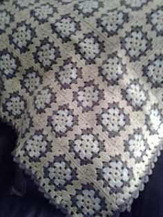 Granny Square Blanket for my Great Nephew Zachary......