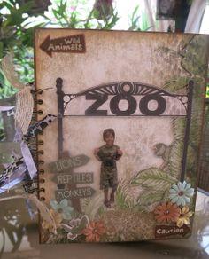 At THE ZOO mini album - Scrapbook.com