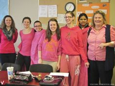 Pink Shirt Day at the Vancouver Career College Abbotsford Campus - Smiling Ladies Subscribe to Vancouver Career College: http://www.youtube.com/subscription_center?add_user=VCCollege #PinkShirtDay #at #the #VancouverCareerCollege #Abbotsford #Campus #smiling #ladies