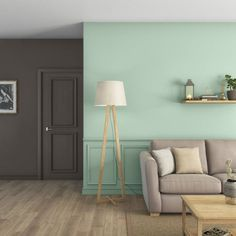 Home Staging, Living Room Colors, Living Room Decor, Flat Ideas, Sweet Home, New Homes, House Design, Lighting, Leroy Merlin