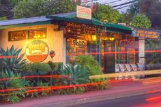 Polli's Mexican Restaurant, Makawao, Maui - One of the best things about this location, they have a generator. When its pouring out (Which it does frequently in up country)and everyone else has lost power, you can get a delicious hot meal here!