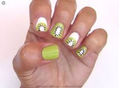 Kiwi nails <3