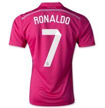 Real Madrid CF 2014- 2015 Season RONALDO #7 AWAY SOCCER JERSEY [1407290362]