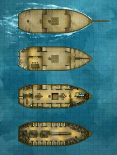 Battlemap - The Merryweather Merchant Sailing Ship by RoninDude.deviantart.com on @DeviantArt