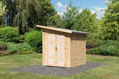 Chalet de Jardin Epicea naturel 3.02 m² (19mm) AMRUM 2 Karibu  Prix: 1080€  Contactez nous au 01.43.75.15.90