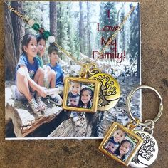Because Dad needs one too... Matching necklace and keychain.  Email info@maemaejewelry.com for details. #maemaejewelry #personalizedgifts #custompieces #family #love #treeoflife