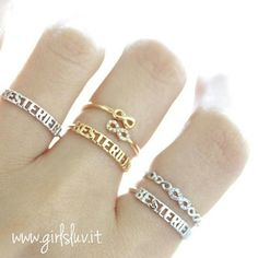 best friends infinity ring, adjustable