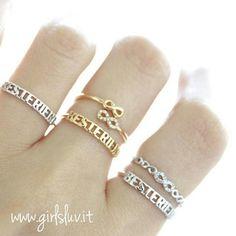 best friends infinity ring, adjustable