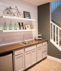 31 Best Small Basement Kitchen Images In 2018 Kitchen Home Decor