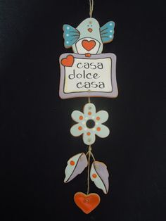 ceramica come mestiere: Casa dolce casa... Clay Projects, Clay Crafts, Diy And Crafts, Ceramic Houses, Ceramic Clay, Pasta Fimo, Biscuit, Fused Glass Art, Paper Clay