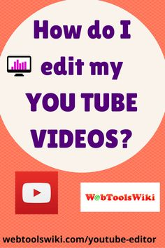 How to Edit Your Videos with YouTube Editor #Crowdify