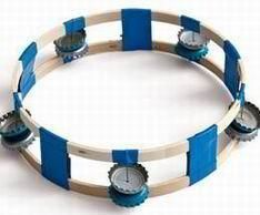 Top 21 Musical Instrument Crafts For Your Kids This homemade tambourine can be made with simple things at home which include soda bottle caps. As you shake the tambourine, the caps will strike each other making a great sound.