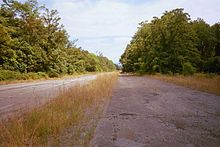 Abandoned Pennsylvania Turnpike. This is where they filmed the movie The Road. I bet it would be an amazing place to take photos.