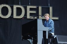 Tom Odell at the Isle of Wight Festival