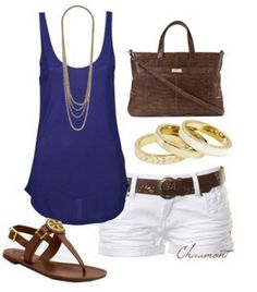 c23dfe06a3537 A fashion look from March 2012 featuring long tank tops
