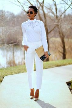 15 Trendy Outfit Ideas with White Jeans | For women, Women's ...