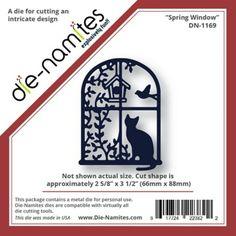 Die-Namites Spring Window