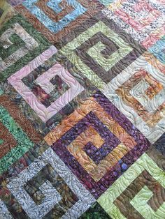 Pieced by Amanda Jeffrey Quilted by Jessica's Quilting Studio