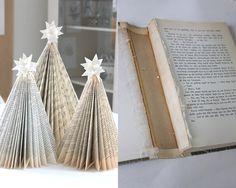 Kasparas regnbue: Juletrær av gamle bøker