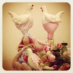 Craft and Decorate Blog - Tilda Bunny, Royal Hens & Floral Doves