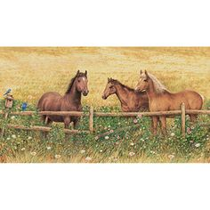 Brewster Wallcovering Horse Mural