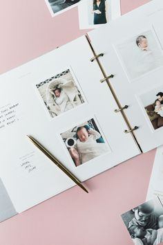 For all of the littles in your lives. | We love this look at your baby book, @heatherhawkins.